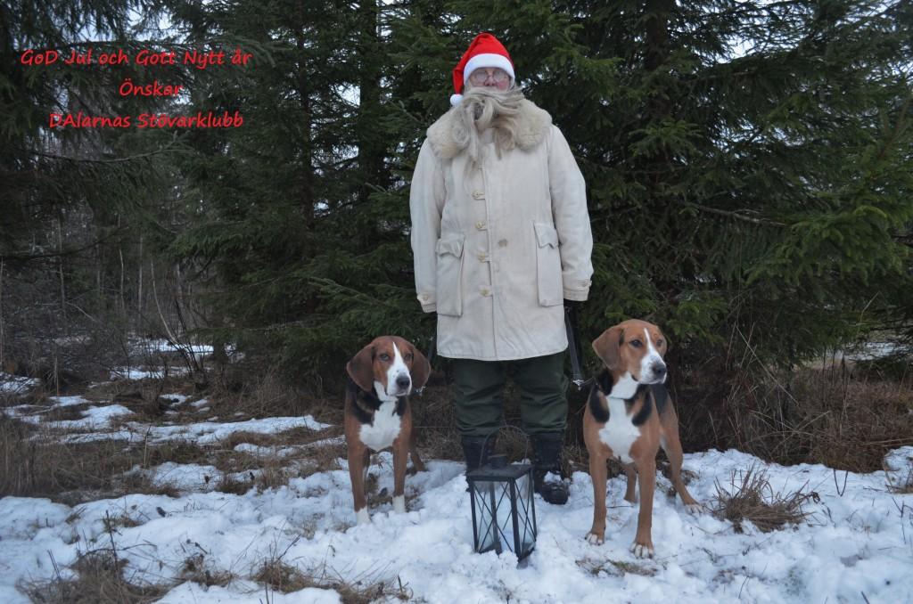 Julhälsning Dalarnas stövarklubb